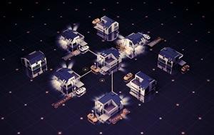 © Solar Bankers/ Dezentralisiertes Energiesystem auf Basis neuartiger Solarmodule generiert erstmalig hocheffizient Energie auch in Gebieten mit schlechter Infrastruktur oder Krisengebieten. Hohe Kosten für´zentrale Netzausweitung entfallen.