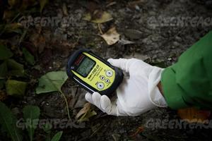 © Jeremy Souteyrat/Greenpeace- Strahlenmessung in Fukushima